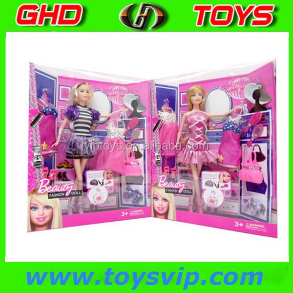 Top Quality! 11.5 Inch Beauty Fashion Dolls set