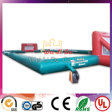 largest customized inflatable football pitch inflatable football field for football game