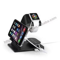 Charging dock station for apple watch USB charger dock for iphone/ipad stand charging dock holder for apple phone