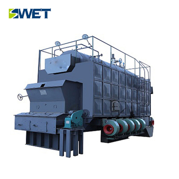 7MW /Industrial energy conservation wood fired biomass hot water boiler
