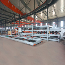 Wall EPS Foam Sandwich Panels Roll Forming Machine EPS panel With Expandable Polystyrene Foam Board machine