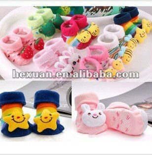 kid's Socks,kid's Outdoor Shoes, kid's Non-slip Walking Socks, Children's Cotton Stockings