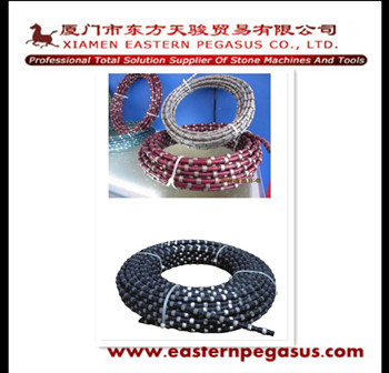 Diamond tools, spring diamond wire saw, diamond wire for cutting marble and granite