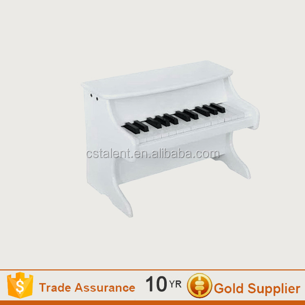 White solid wood children piano/mini piano/30keys piano