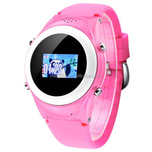 SOS Function Kids GPS watch Remote GPS Tracking Handfree Bluetooth Smart watch phone GPS Monitoring