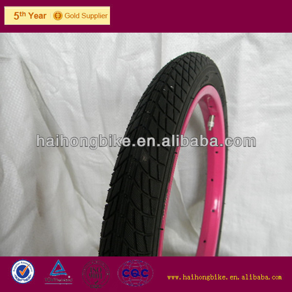 the new style bike tire