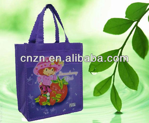 COLORFUL ECO-FREINDLY NON-WOVEN SHOPPING BAG
