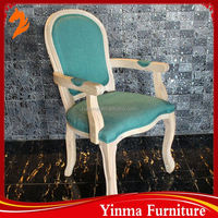 2016 Foshan factory wholesale modern wing back chair