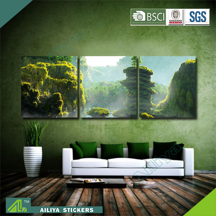 Home Decor Customized Modern Canvas Three Panel Oil Painting Artists Names Buy Oil Painting