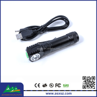 Magnetic headlight 3-Mode rechargeble Mini led flashlight Torch with Usb charge
