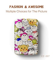 new products 2016 best gift remax COOZY colourful cartoon custom OEM 10000mAh polymer power bank