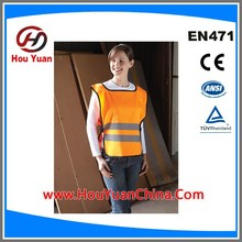 the Most cheap Reflective Safety Vest,CE EN20471 Standard,PMS colour customize,Elastic Adjust,One Size Fit All People
