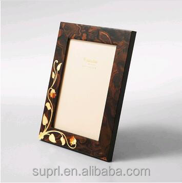 custom promotional colorful wood photo frame