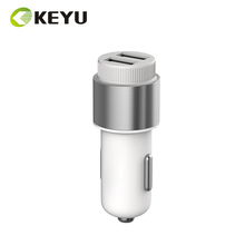 custom 5v 3a 9v 2a 12v 1.5a QC3.0 wall usb 2 port cell phone car charger with low price