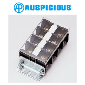 TB Series Din Rail / Panel Mount Brass Screw Joint Type Terminal Block