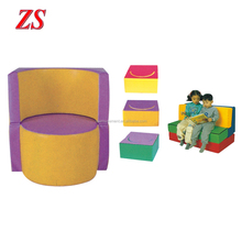 Children fun baby sports equipment indoor play sets Kids Colorful Soft Play