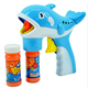 Children Toys Clear Led Flashing Dolphin Bubble Gun