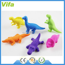 3D animal shaped erasers for children