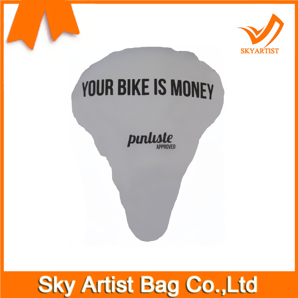 Advertised Fiets Bicycle Seat Saddle Cover Rain Made of Warterproof Material