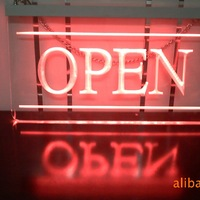 NEW Acrylic Restaurant Open Led Sign