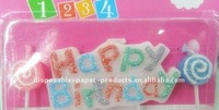 Wholesale Happy Birthday Message Candles, Party Candle