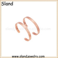 Alibaba website Top-Rated Supplier Trade Assurance super purchasing 99.99% pure copper bracelet/copper bangles for women