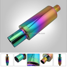 HI POWER STAINLESS UNIVERSAL TRUCK EXHAUST MUFFLER FROM CHINA AUTO SPART FACTORY