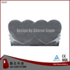 Factory Price Double Heart Shaped Headstone Tombstone Pictures
