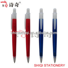high quality novelty retractable plastic pen