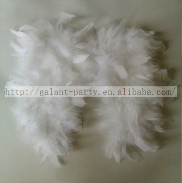 Factory Wholesale Fashion Baby Natural Feather Wing Also Can Used As Home Decoration