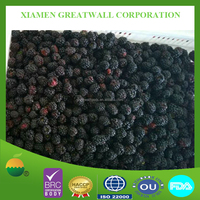 80% Black Color Frozen Blackberry Fruits