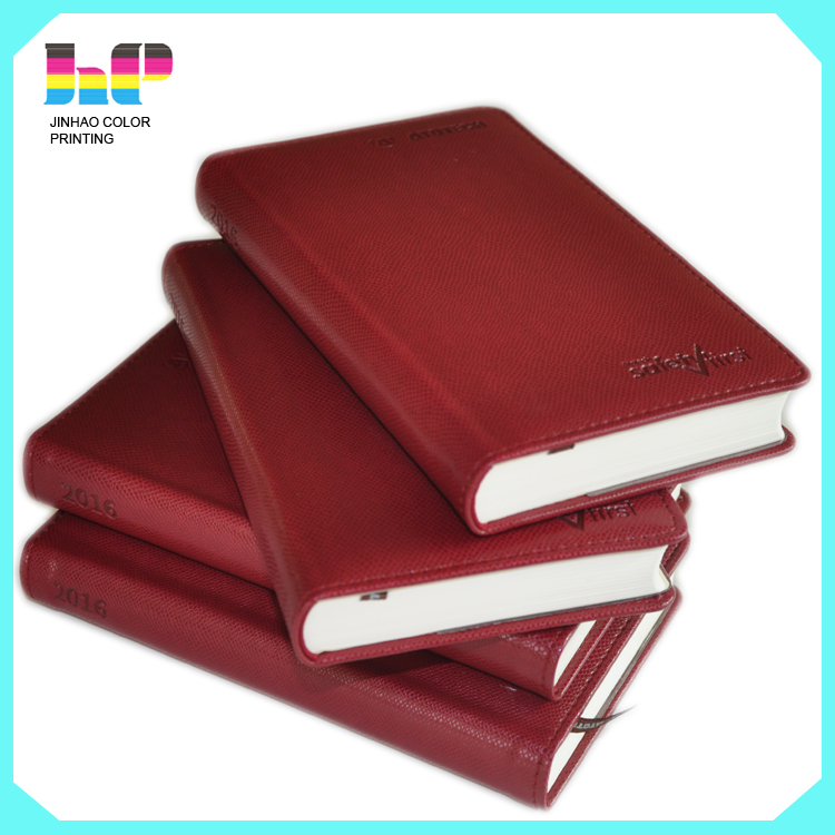high quality promotion cheap custom Pu leather notebook,fashionable Pu leather diary,custom leather Note book