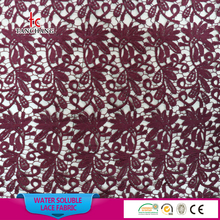 wholesale guangzhou african lace embroidery fabric guipure lace fabric indian george lace fabric SRMF17
