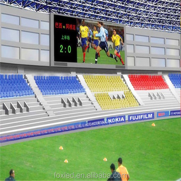 Shenzhen <strong>P10</strong> outdoor full color perimeter <strong>led</strong> display, stadium <strong>led</strong> screen, football stadium perimeter <strong>led</strong> display screen