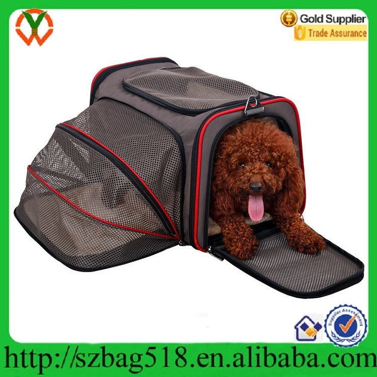 Wholesale Dog Bag Airline Approved Comfortable Soft Sided Travel Pet Carrier