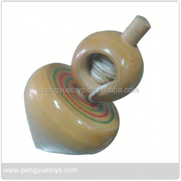 wooden beyblade spinning tops for promotional gift