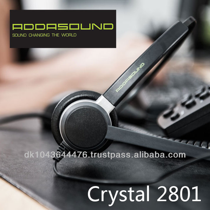 Premium Noise-cancelling Headsets Designed for call centers Crystal 2801
