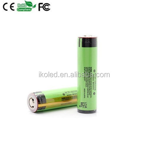 2015 china supplier NCR 18650B 3400mah 3.7v high power protected 18650 Li-ion polymer battery