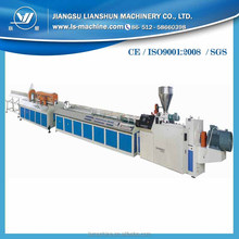 New style wood plastic composite wpc profile extrusion machine