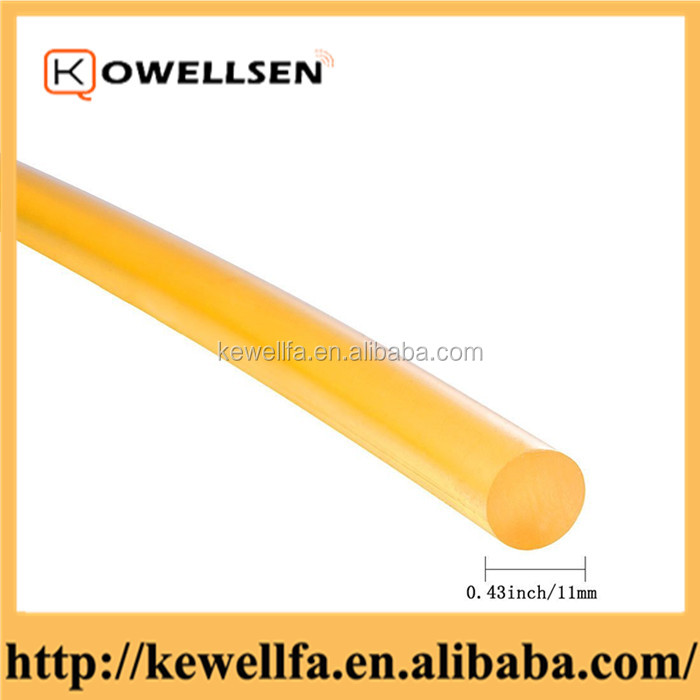 Transparent clear hot melt adhesives glue stick