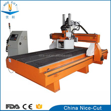 NC-L2030 2040 woodworking Triple/multiple Head ATC CNC Router 3D CNC wood furniture machine ATC router with boring head