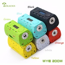 New products WYE 200w with quality assurance and WYE 200w vapor mod unique rainbow colors rush to purchase now