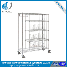 Reasonable design pallet storage wire cage and roll tainers
