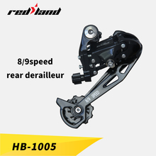 ningbo RedLand good quality bicycle front derailleur top and down swing Bicycle rear derailleur