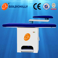 Commercial / industrial vacuum Iron table laundry trouser ironing table with CE