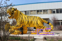 Outdoor advertising inflatable tiger model for sale C-306