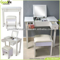 wooden girl dressing table with cupboard from Chinese furniture