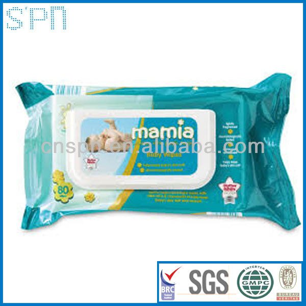 the best manufacturer private label fragrance free baby wet wipes