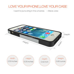 new silver cover for iphone 5 protective phone case