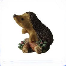Wholesale Office Ornament Resin Hedgehog Figurines